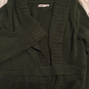 Belted Sweater